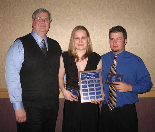 Scholar Athletes of the Year - presented by Ken Olynyk - Alix Stupich and Tanner Brotzel