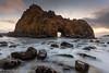 Sunset, Pfeiffer Beach (Big Sur) by Robin Black Photography