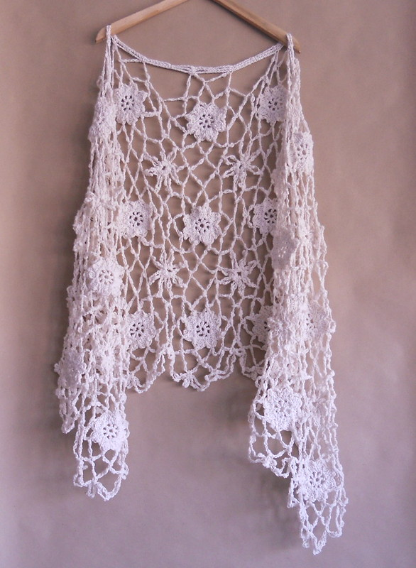 Chal en algodón, cotton shawl