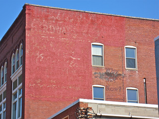 Coca-Cola Ghost Sign, Cumberland, MD