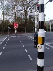 歩行者用信号機ボタン