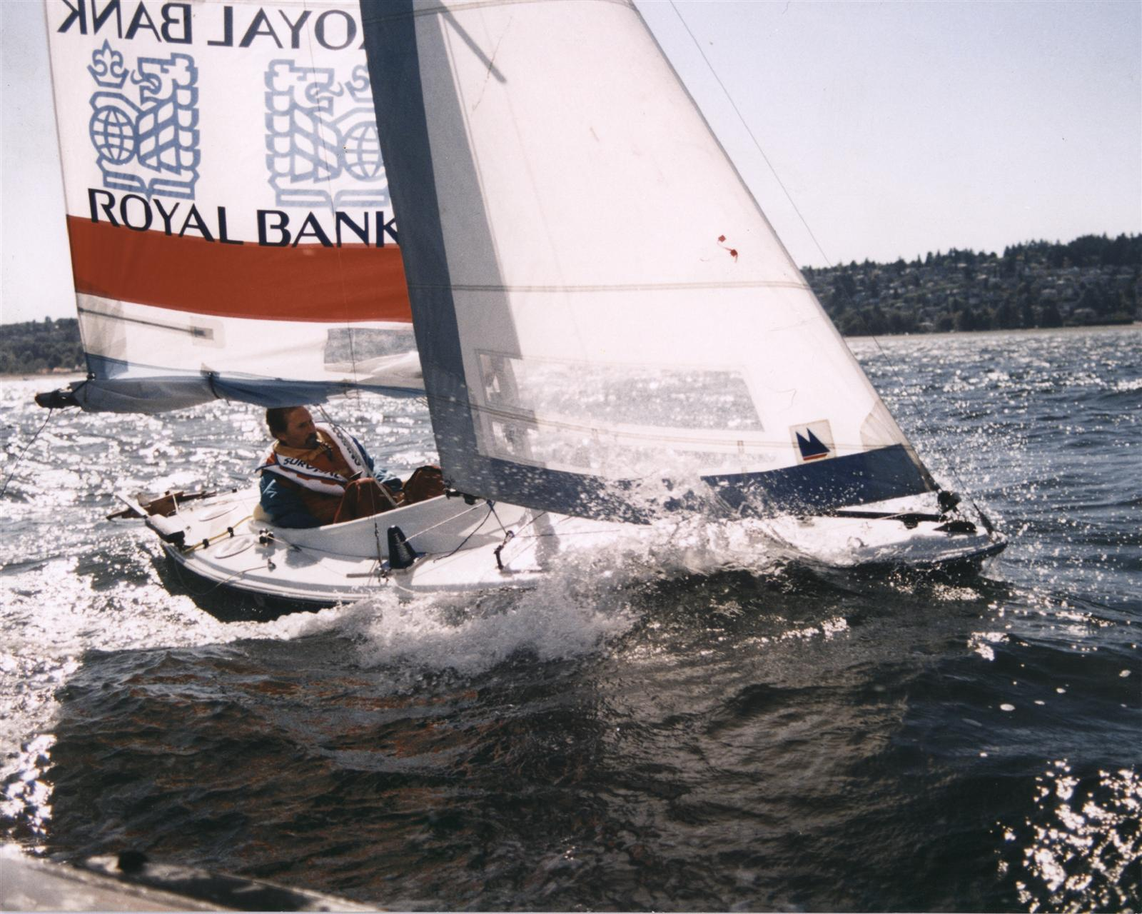 High Quad Sailboat