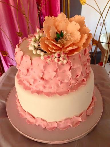 Beautiful Petals Cake by Katrina Manuel Santos of Sweet Pastry