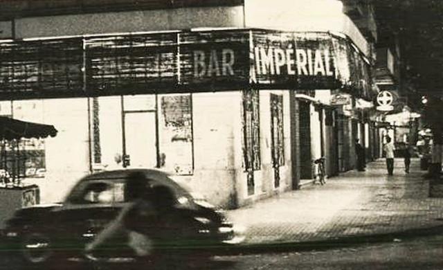Bar Impérial, đường Tự Do Saigon 1960s (góc Tự Do-Nguyễn Văn Thinh)
