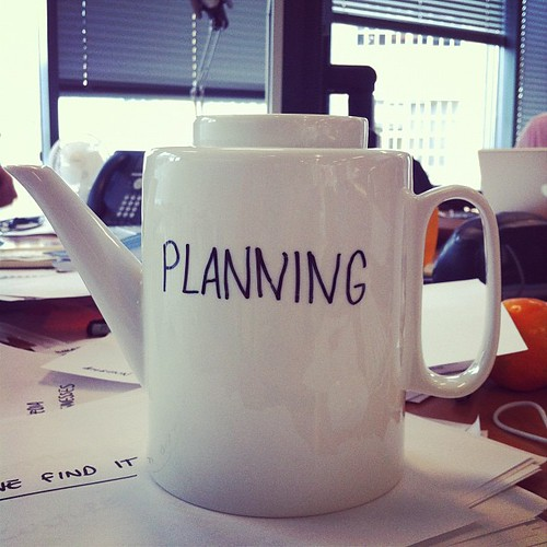the teapot of planning