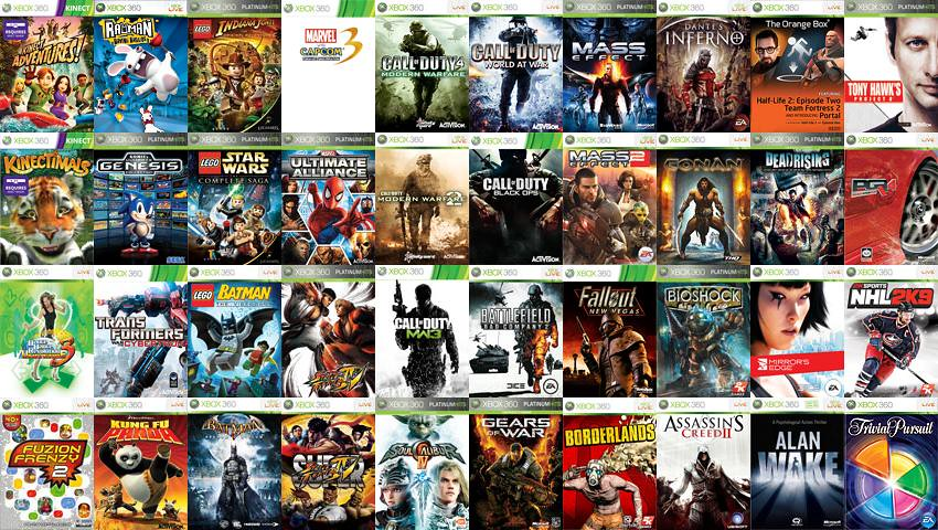 My Xbox 360 Games Collection November 2011 Unfortunately Flickr