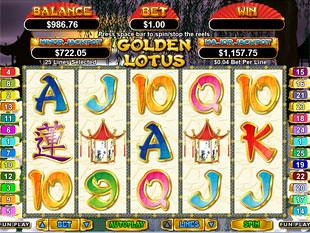 Golden Lotus Slot Machine