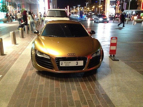 Audi R8 in Dubai