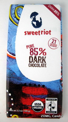 Sweetriot Chocolate Bar - 85% Dark Chocolate