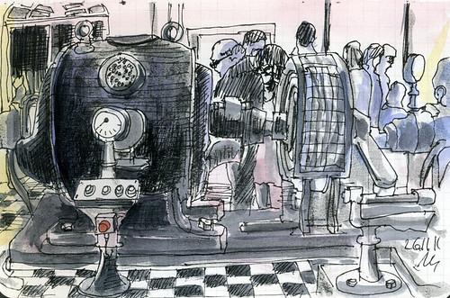 Old pump Station in Bremen  by manfred schloesser