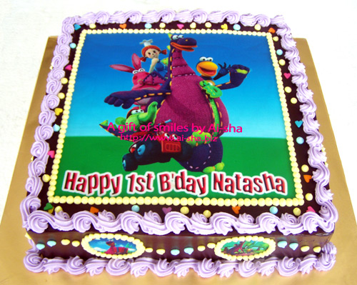 Birthday Cake Edible Image Dibo