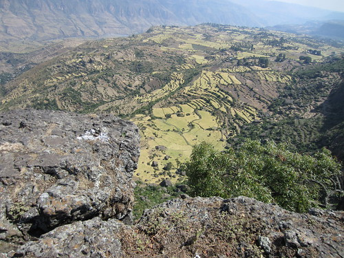 Viewpoint from the top of the gorges in Debre Libannos, Ethiopia