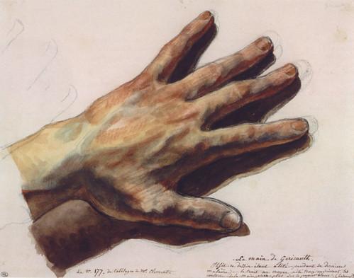 Gericault hand