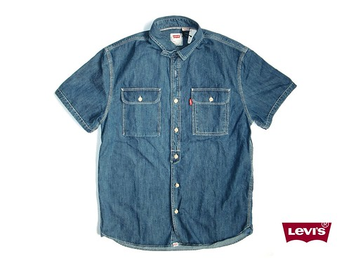 LEVIS DENIM SS SHIRT SHELFLIFE