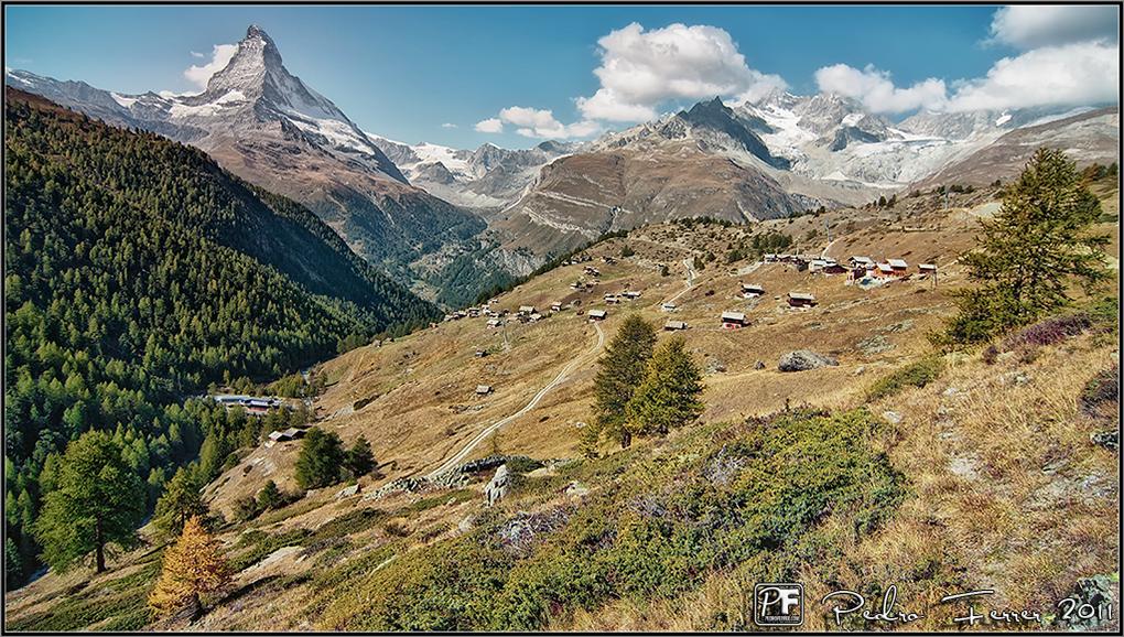 Suiza - Las montañas - Matterhorn, la reina de las montañas