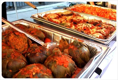 boston italian food market artichokes