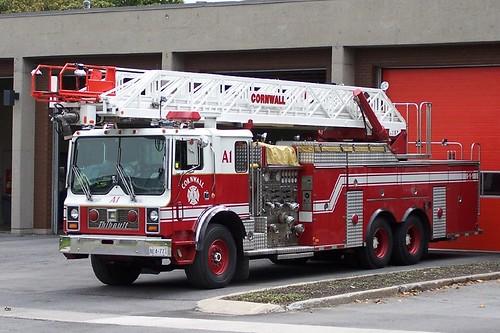 Rear Mount Ladder Truck Tandem Flickr Photo Sharing