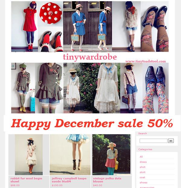 Happy December sale 50%