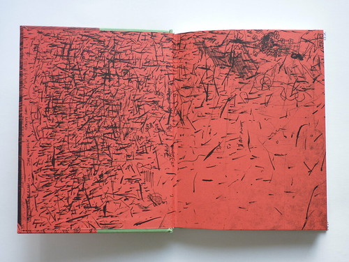 500 Portraits by Tony Millionaire - endpapers