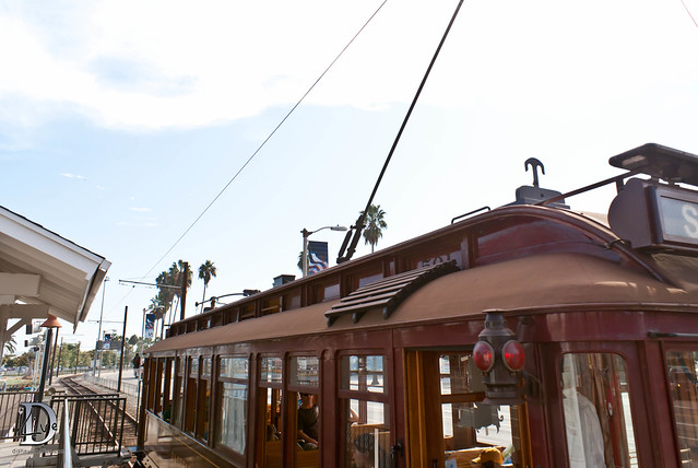 Pacific Electric Railway / Red Car Trolley - Car Top