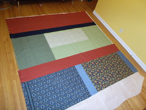 Basted and ready to quilt!