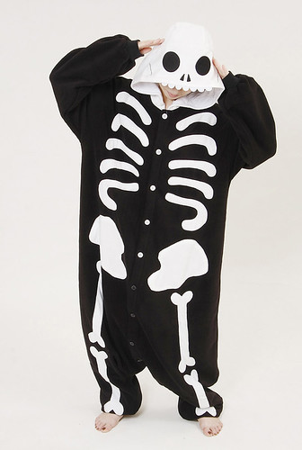 Skeleton Adult Onesie Pajamas