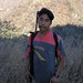 Hombre con rifle - Man with a rifle; al lado del Río Colorado entre Yolotepec y Santa Catarina Cuananá (Región Mixteca), Oaxaca, Mexico por Lon&Queta