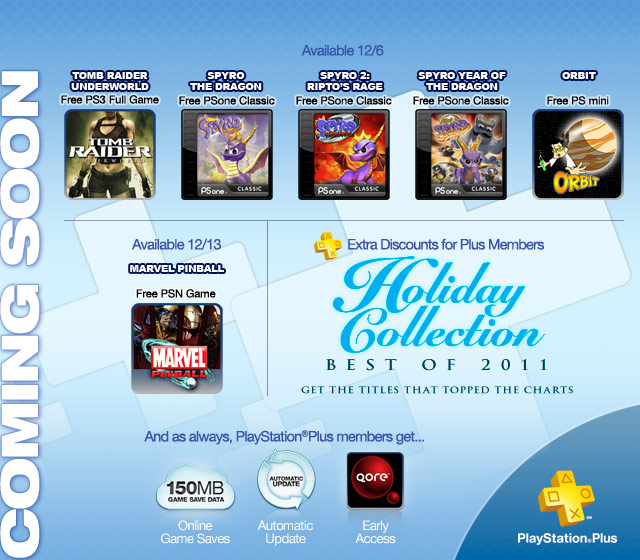 PlayStation Plus: December 2011