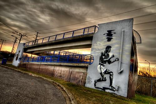 bridge ontario canada train sunrise canon graffiti sigma kerry ali 7d sheppard 1020 mohammad brampton safecity theunitedway cityofbrampton sheke1 underwatertraining