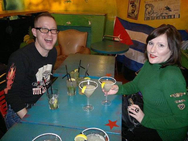 Pre-John Waters Christmas Show Drinks at Cubana