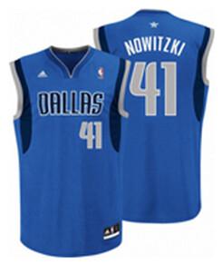 best website a0f4f a6d65 Dirk Nowitzki Youth Jersey | Blue Dirk Nowitzki #41 Youth Je ...