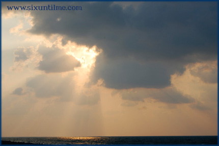 The Persian Gulf sky
