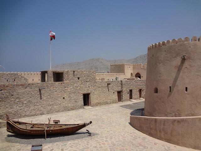 Forte de Cassapo, Khasab em Musandam Omã
