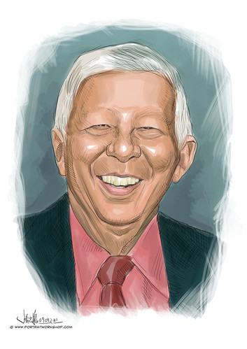 digital portrait of BBML-Peter Joe Chia (revised)