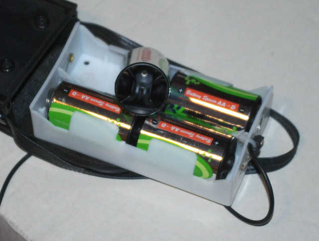 Battery pack for RA telescope motor drive