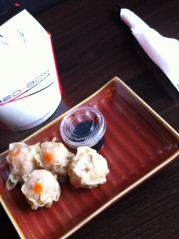Dim Sum at Red Box Noodle Bar, Edinburgh