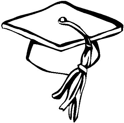 Image Result For Graduation Cap Coloring