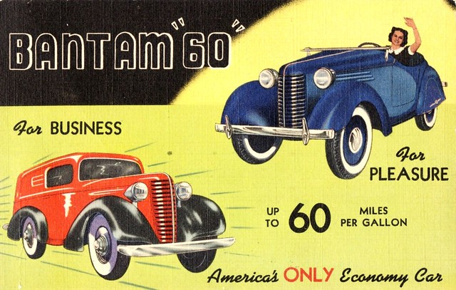 "1938 Bantam ""60"" Panel Delivery & Roadster"