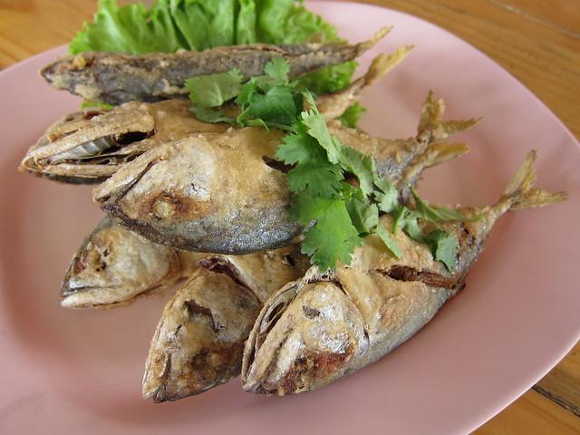 ปลาทูสดทอด