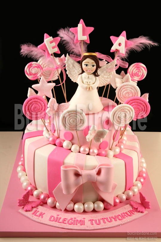 1st Birthday Cake Angel 1