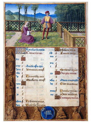 013-Hours of Henry VIII-1500-Fol. 2v-Jean Poyer--© The Morgan Library & Museum