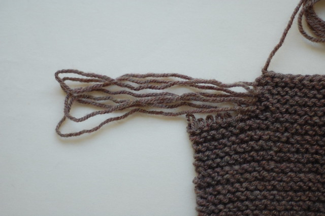 fringed arm warmers - 2