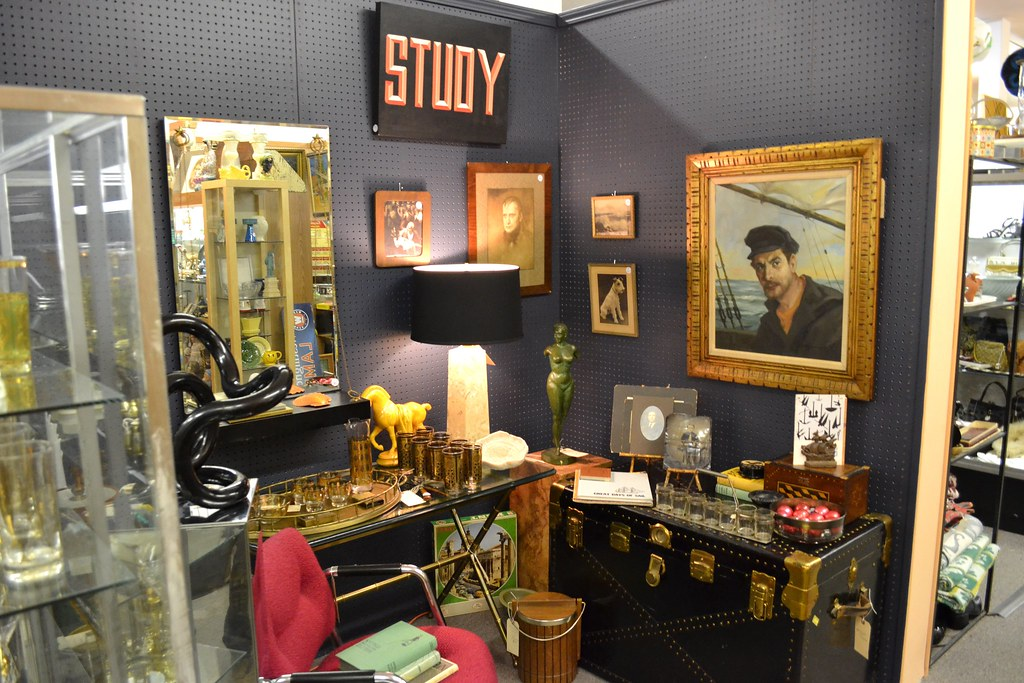 STUDY Booth at Broadway Antique Market Chicago