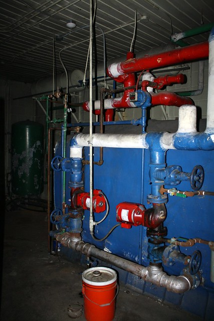 Woodview Public School Boiler Room