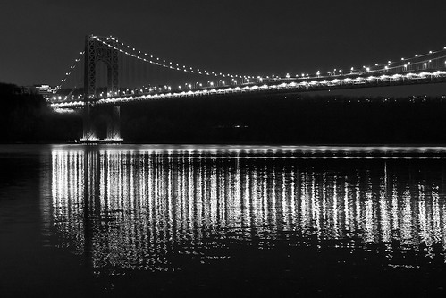 GWB at Night
