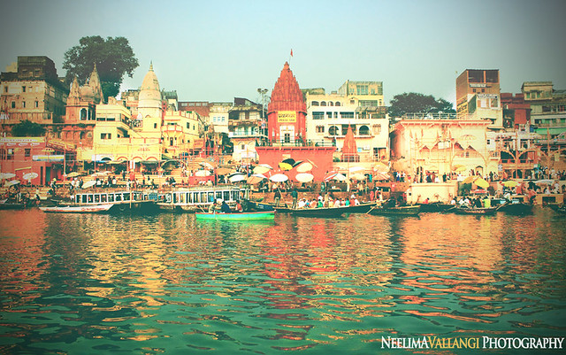 Old yet Ageless, the ghats of Varanasi
