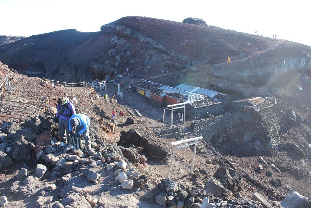 Mt. Fuji experience report (Yoshida route) Part4 (5)