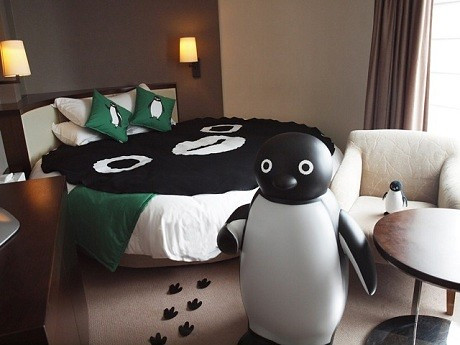 The Suica Penguin Room has arrived at Hotel metropolitan