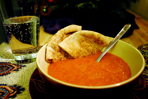 Roasted Tomato and Red Pepper Soup 6