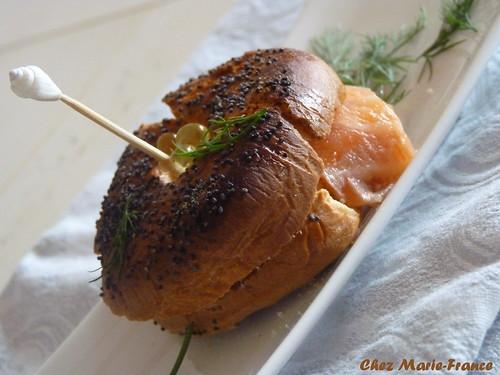 Bagels aux graines de pavot